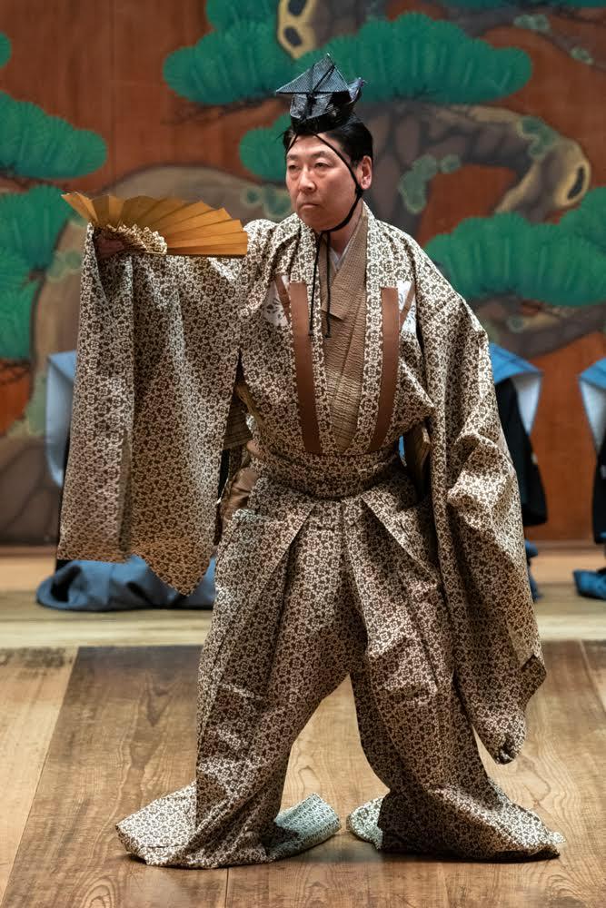谷行』素袍を勤めて – 粟谷明生オフィシャルサイト